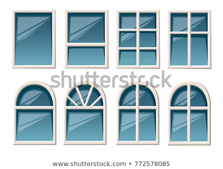 blue window Stock photo © sirylok