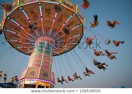 Swing Ride Chains Stock photo © piedmontphoto