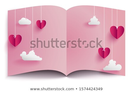 Couple looking at postcards Stock photo © photography33