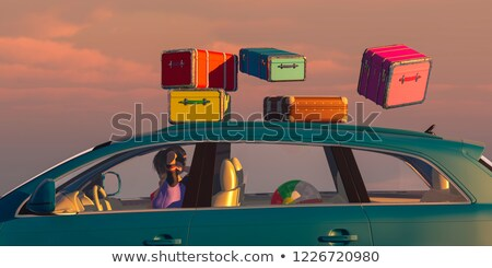 woman going on a trip stock photo © photography33