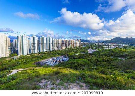 Hong · Kong · subúrbio · novo · oceano · praia · água - foto stock © kawing921