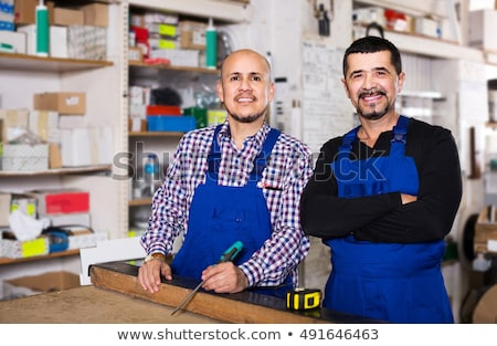 woodworker posing Stock photo © photography33