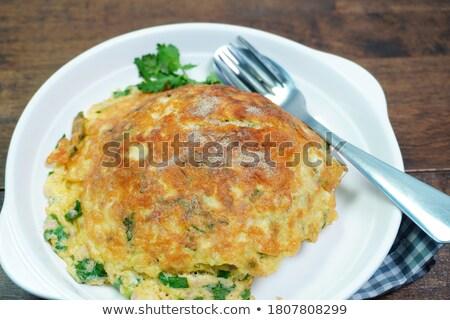 Onion Omelet Stock photo © zhekos