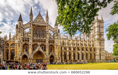Westminster abadia igreja Londres retro vintage Foto stock © claudiodivizia