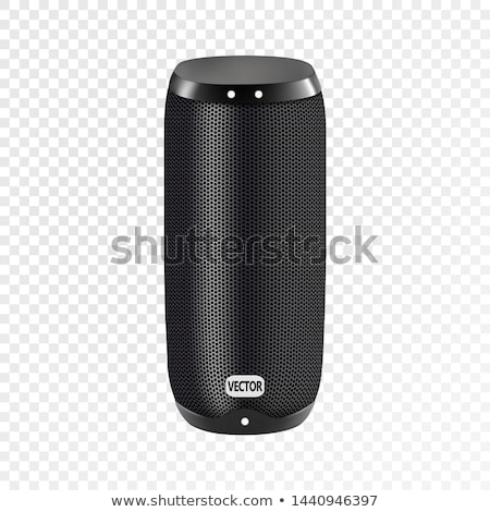 Black loudspeaker Stock photo © rozbyshaka