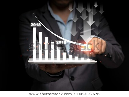 üzlet csökkenés nyereség csökkentés csoport gyümölcs Stock fotó © Lightsource