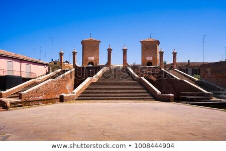 Trepponti in Comacchio, Italy Stock photo © aladin66