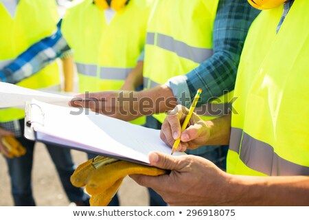 Foreman with clipboard Stock photo © photography33