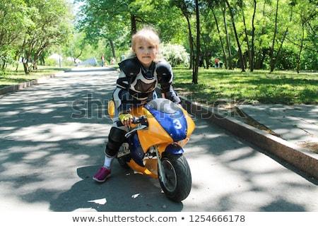 Mini motor bicicleta crianças veículo Foto stock © stevanovicigor