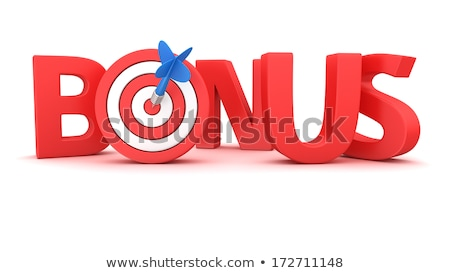 Bonus - Arrows Hit in Red Target. Stock photo © tashatuvango