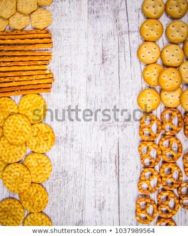 salted cookies stack Stock photo © designsstock