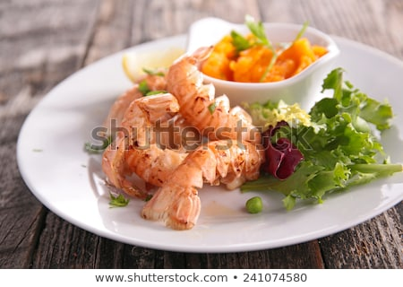 grilled langoutisne stock photo © m-studio