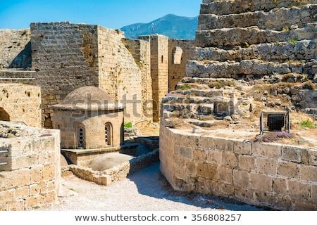 Церкви замок Кипр небе здании свет Сток-фото © Kirill_M