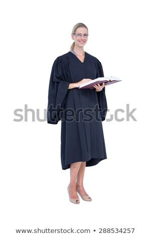 portre · avukat · hukuk · kitap · ofis - stok fotoğraf © wavebreak_media