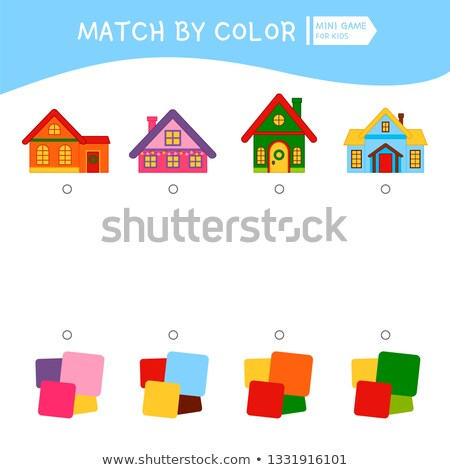 Stock photo: house of matches