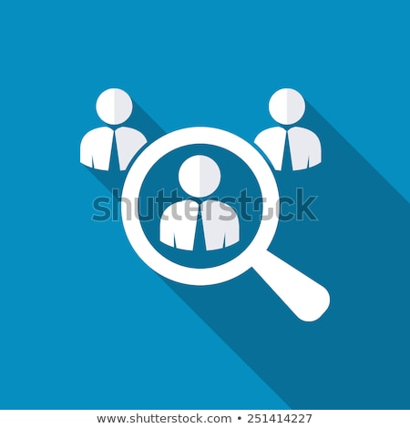 Looking for an Employee. Looking for Talent. Flat Design. Long S Stock photo © WaD