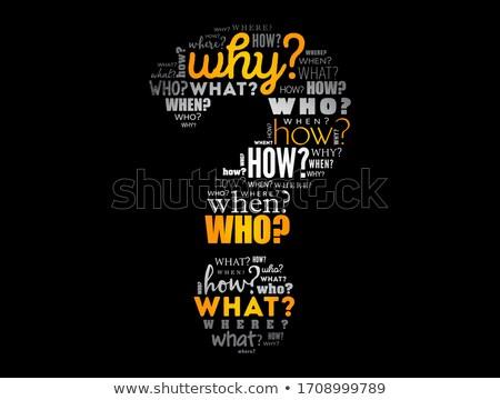 Problem word Stock photo © fuzzbones0