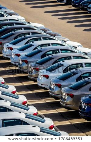 Negócio carro indústria grupo engrenagens Foto stock © Lightsource