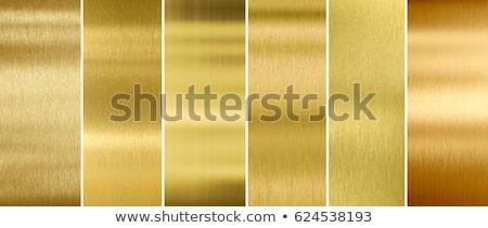 brushed brass surface Stock photo © Istanbul2009