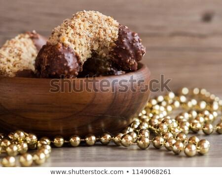Tatlı somun pasta doldurma kurabiye Stok fotoğraf © Digifoodstock