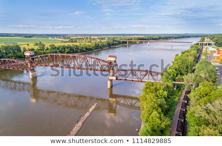 Railroad Katy Bridge  at Boonville Stock photo © PixelsAway