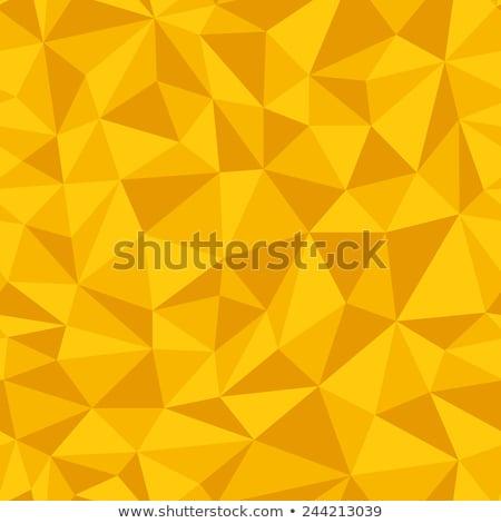 Sarı üçgen desen arka plan Stok fotoğraf © SArts