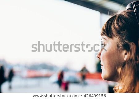 thoughtless city woman Stock photo © ssuaphoto