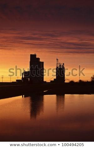 Ceja agua puesta de sol paisaje viaje Foto stock © pictureguy