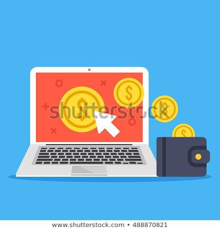 laptop screen with money traffic concept stock photo © tashatuvango