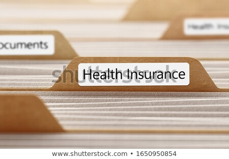 Patients - Folder Name in Directory. Stock photo © tashatuvango