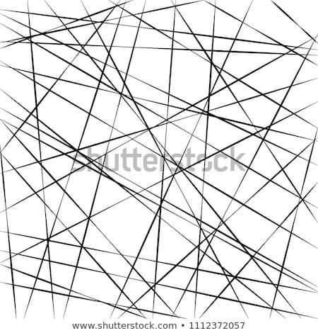 Mínimo atravessar linhas padrão Foto stock © SArts