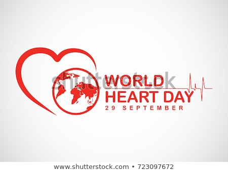 World heart day vector banner Stock photo © studioworkstock