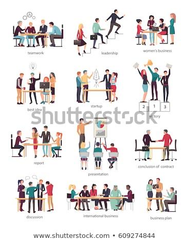 Best Idea, International on Vector Illustration Stock photo © robuart
