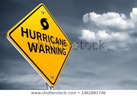 Furacão à frente tropical tempestade previsão Foto stock © Lightsource