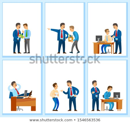 Work Task and Order Employee Dismissal by Employer Stock photo © robuart