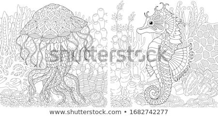 Subaquatique blanche eau corps mer fond Photo stock © colematt