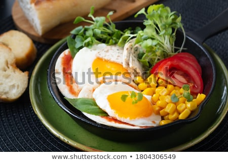Egg salad, traditional American food Stock photo © furmanphoto