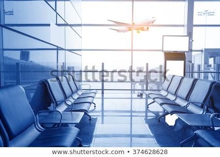 Vazio aeroporto viajar turismo partida quarto Foto stock © dolgachov