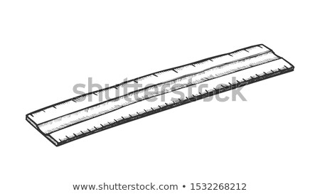 Ruler School And Repair Equipment Retro Vector Stock photo © pikepicture