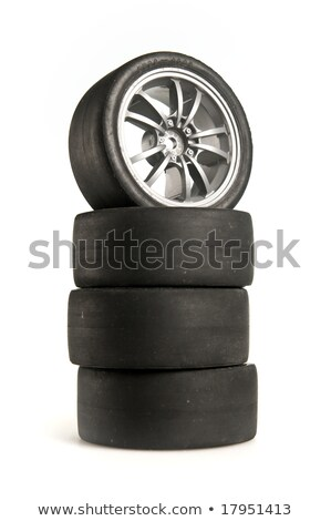 Used racing tires Stock photo © nomadsoul1