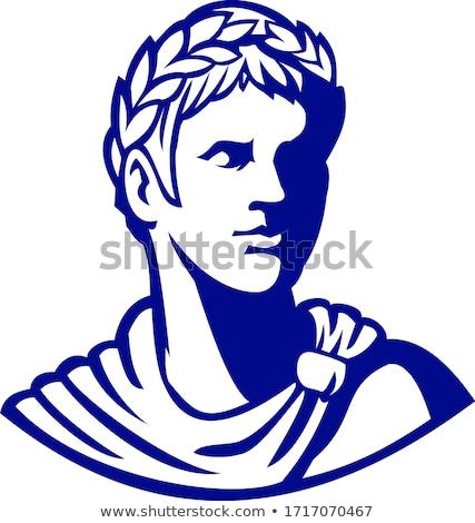 древних римской император глядя сторона талисман Сток-фото © patrimonio