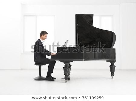 男 演奏 クラシカル ピアノ 楽器 手 ストックフォト © yupiramos