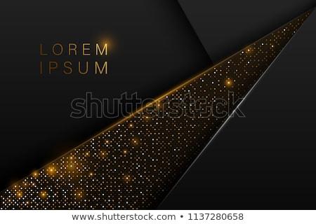 黒 幾何学的な スタイル デザイン ストックフォト © SArts