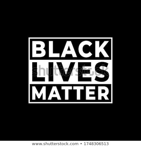 Black Lives Matter Stock photo © tony4urban