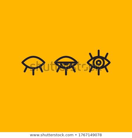 Blink the eye Stock photo © iko