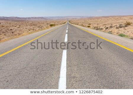 Israël wegteken groene wolk straat teken Stockfoto © kbuntu