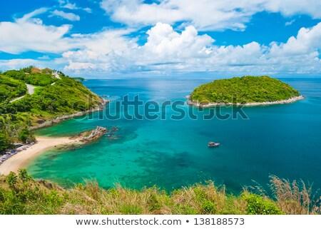 Ver praia phuket ilha Tailândia mar Foto stock © moses