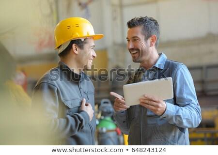 proteção · amarelo · ouvido · construção · fones · de · ouvido · indústria - foto stock © photography33