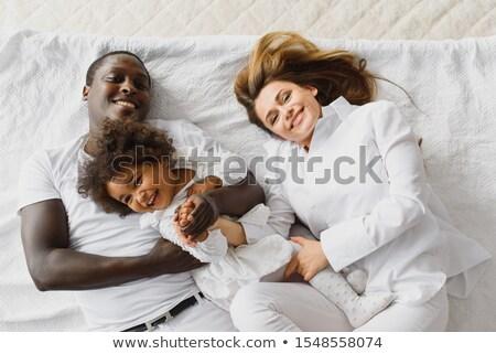 mère · fille · maison · famille · amour - photo stock © photography33