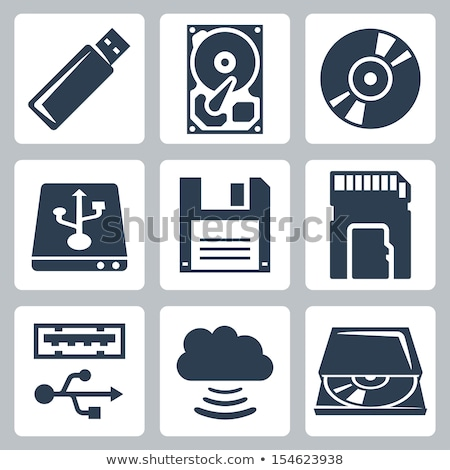 hard disk and accessories  Stock photo © M-studio